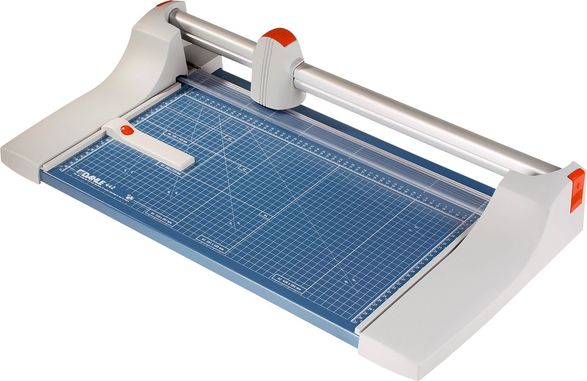 Dahle rolsnijmachine 442 voor ft A3, capaciteit: 35 vel