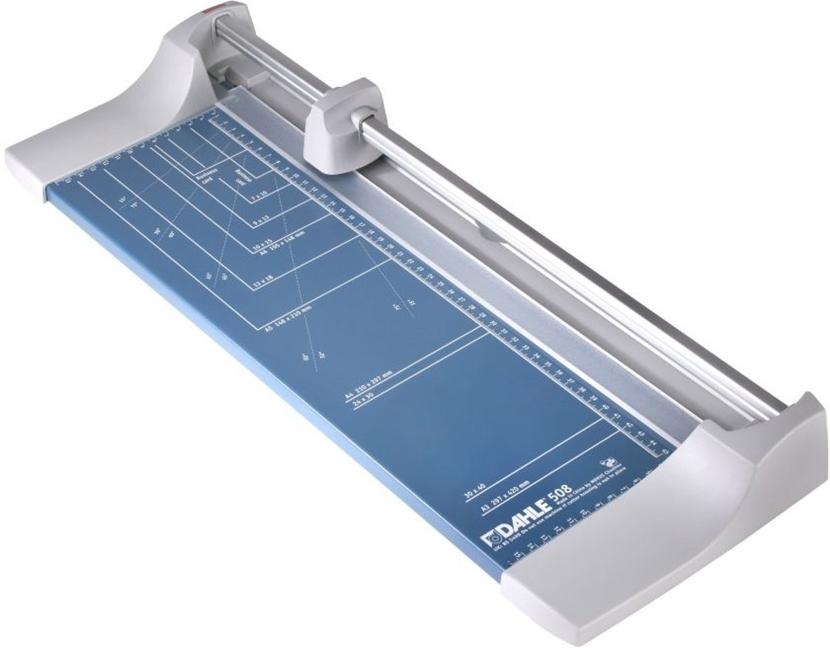 Dahle rolsnijmachine 508 voor ft A3, capaciteit: 6 vel