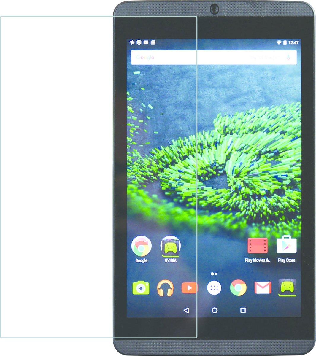 Azuri screenprotector met verhard glas - Voor Nvidia Shield Tablet K1 - Transparant