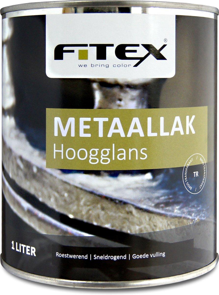 Fitex-Metaallak-Hoogglans-Ral 9005 Gitzwart-1 liter