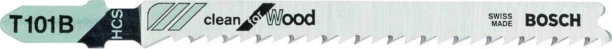 Bosch Decoupeerzaagblad T 101 B hout 5 delig