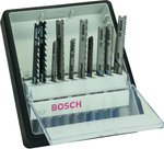 Bosch 10-delige Robust Line decoupeerzaagbladenset Wood and Metal T-schacht