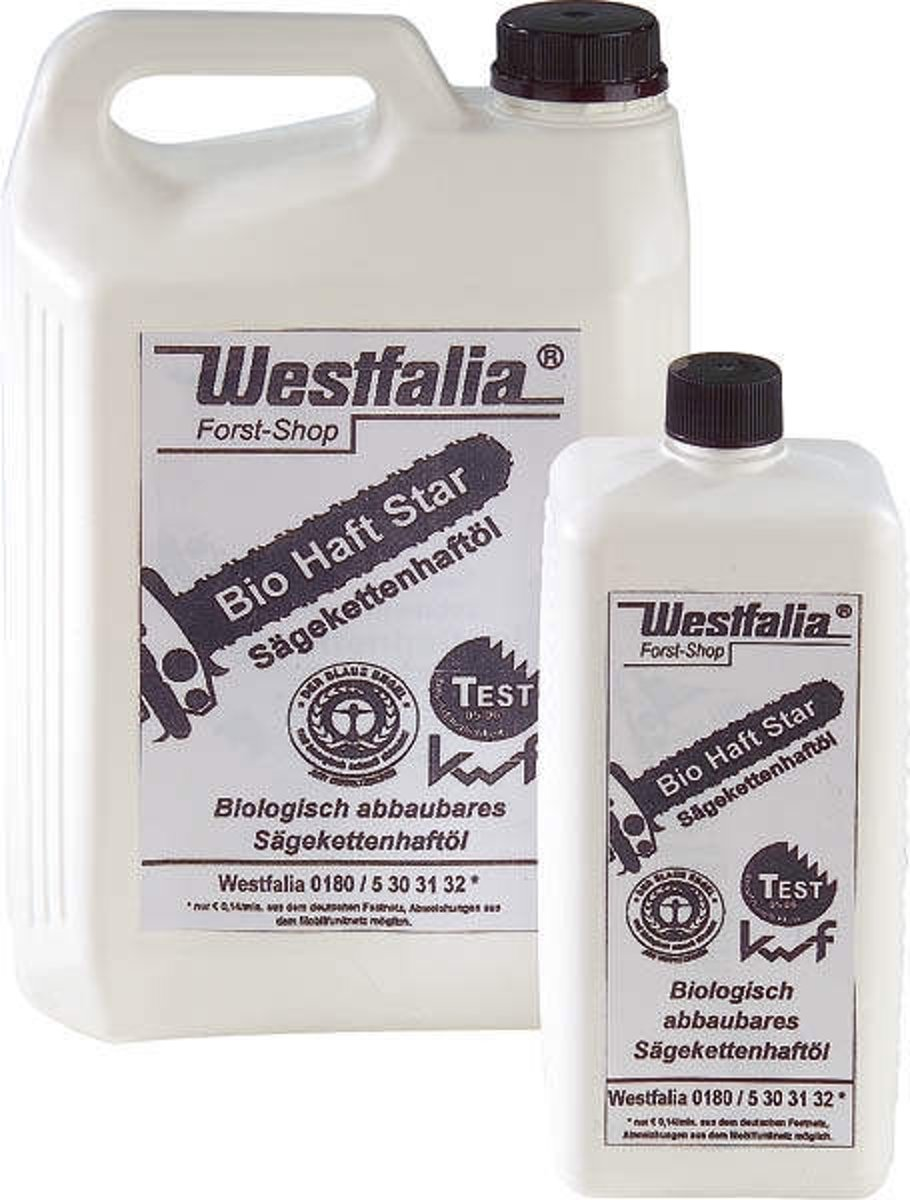 Westfalia Bio kettingzaagolie 5L