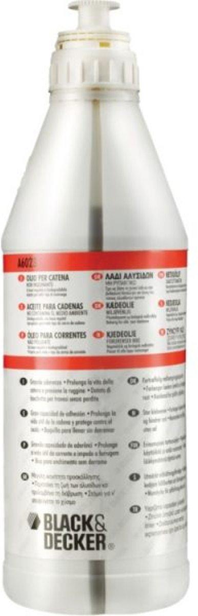 BLACK+DECKER Kettingzaagolie A6023 - 1 liter