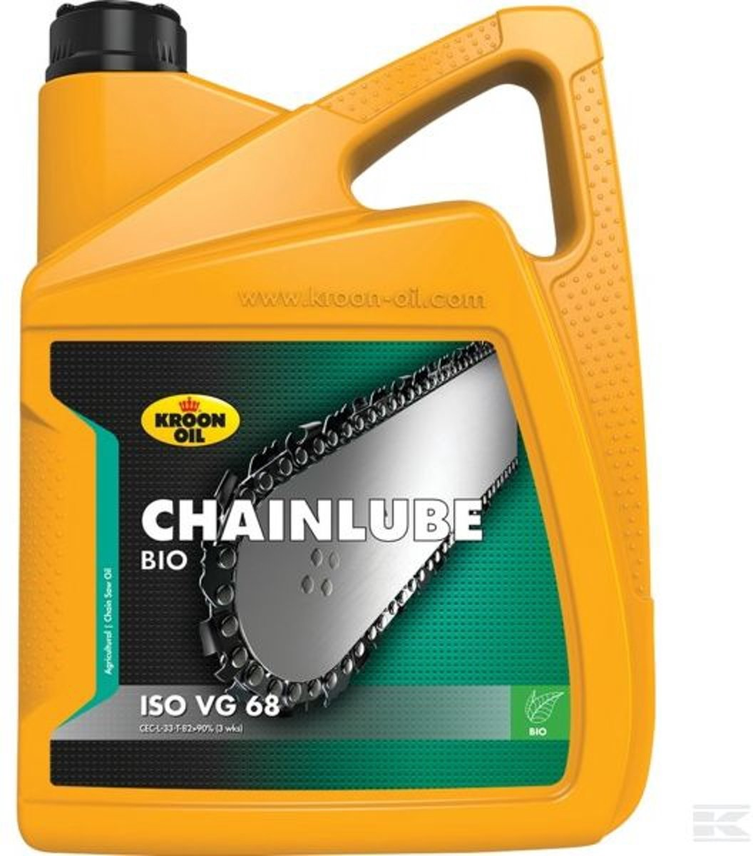 Kroon kettingzaagolie Chainlube Bio 5 ltr bus