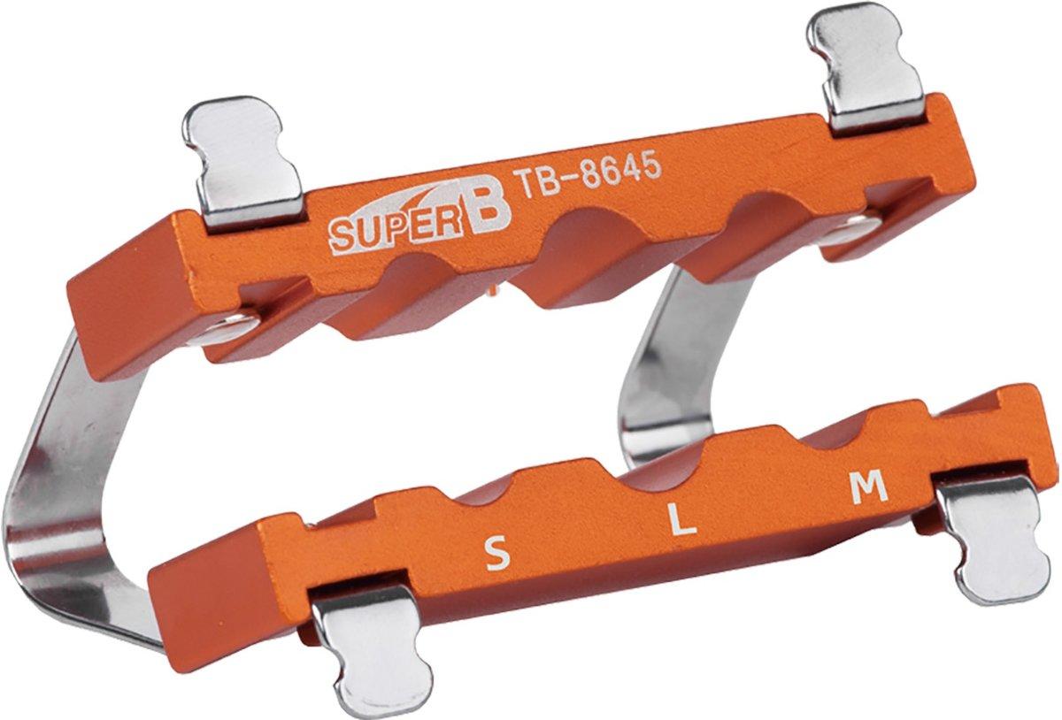 Super B Bankschroef opzetstuk TB 8645 aluminium