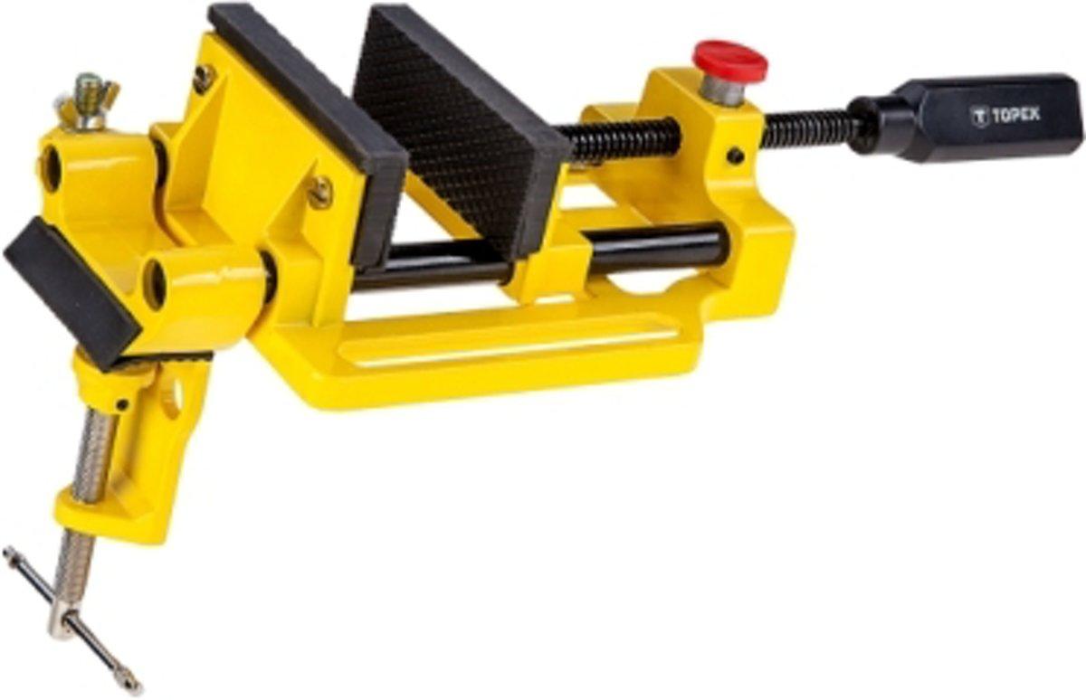Machine Klem - Bankschroef 100x95mm - Geel