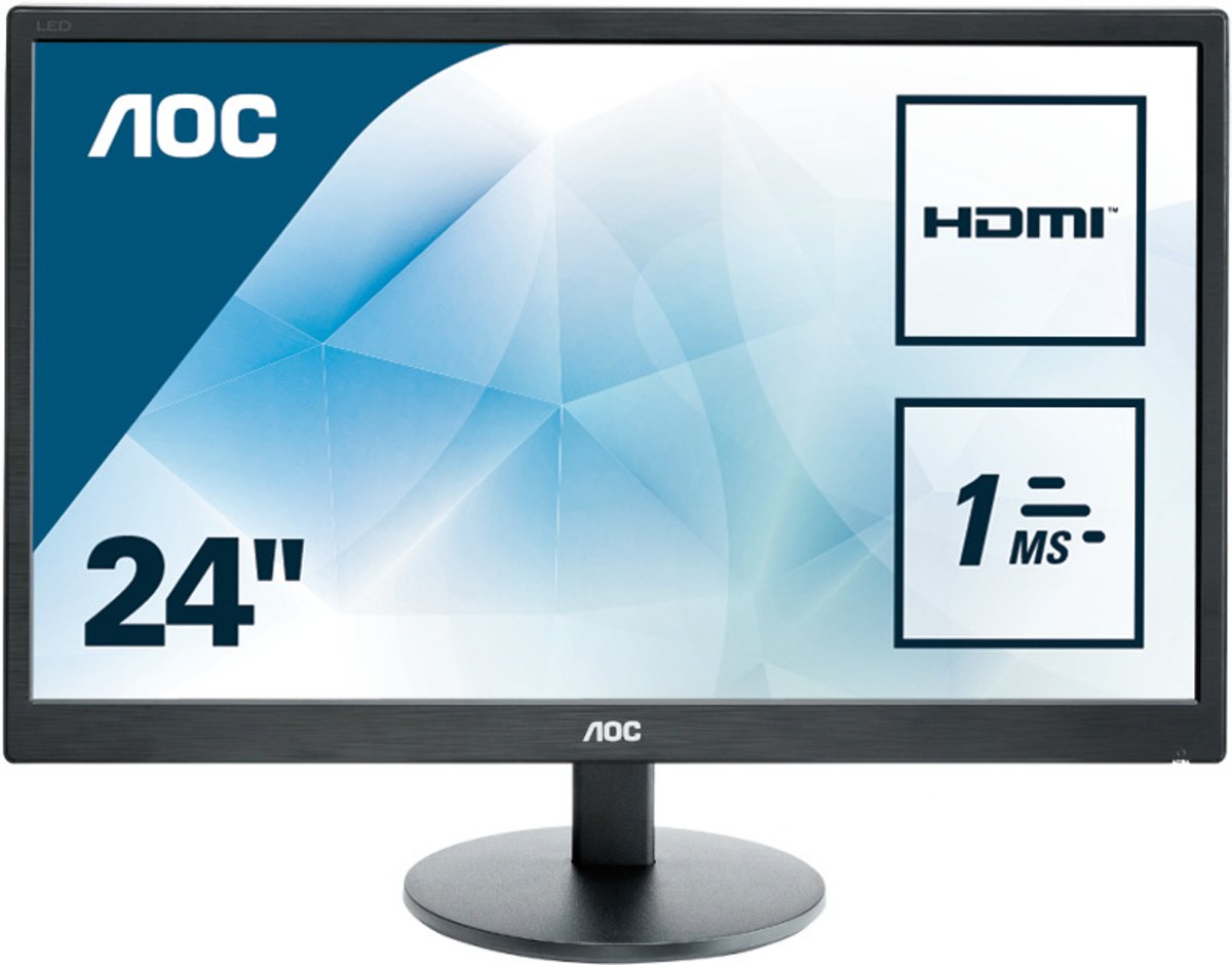 AOC E2470SWH - Full HD Monitor