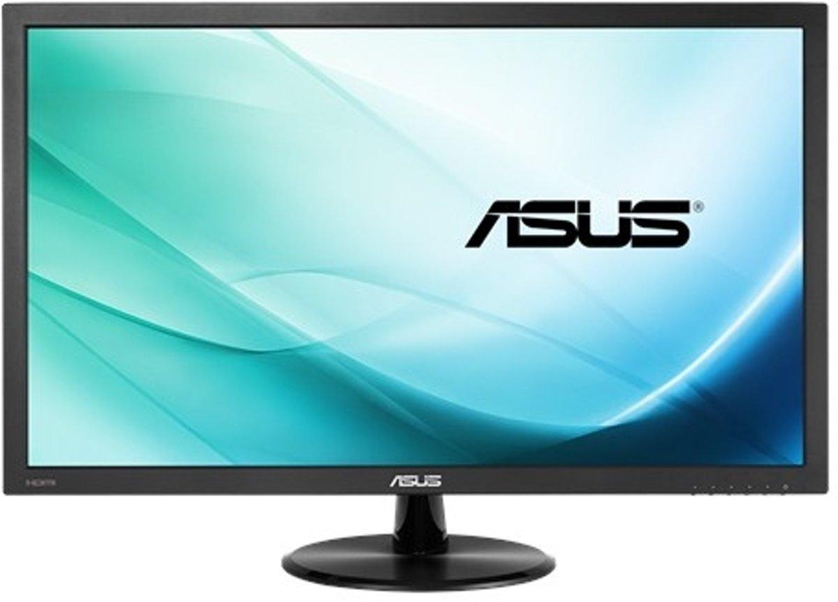 Asus VP228HE LED-monitor 54.6 cm (21.5 inch) Energielabel B (A+ - F) 1920 x 1080 pix Full HD 1 ms HDMI, VGA, Audio, stereo (3.5 mm jackplug)