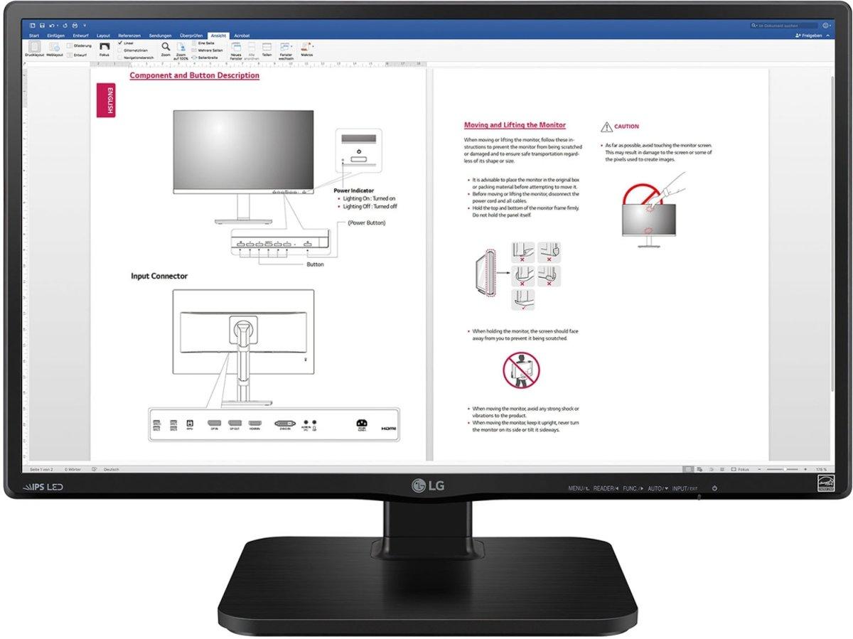 LG 24BK450H - 24'' Full HD Monitor