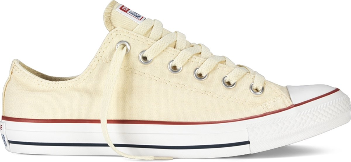 Converse - Heren Sneakers All Star Ox Unbleach White - Wit - Maat 44 1/2