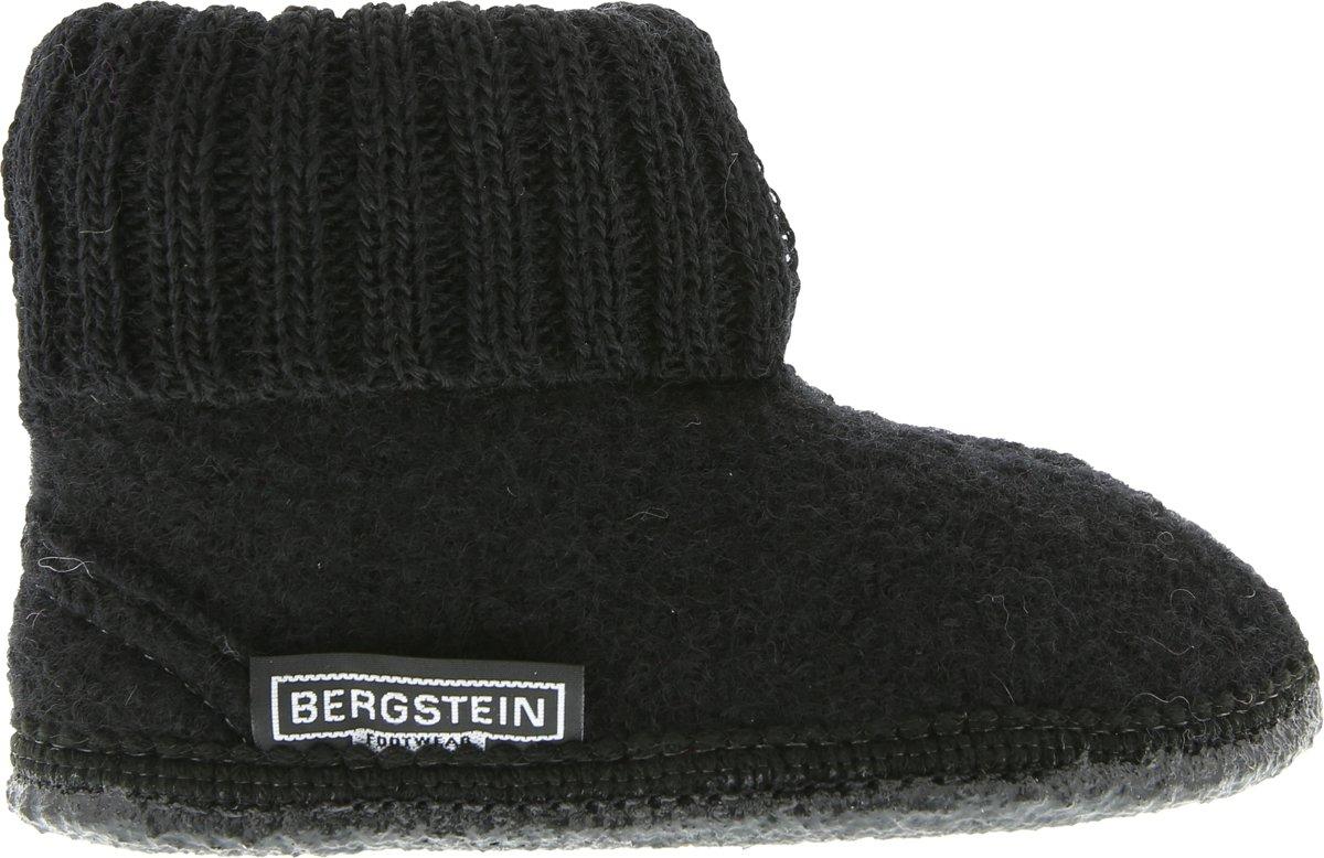 Bergstein Cozy Sloffen Kinderen - Black