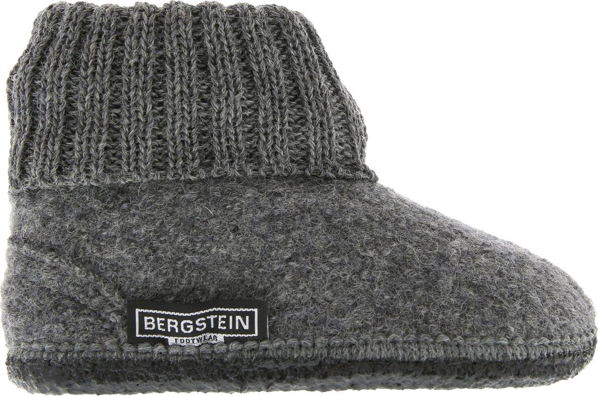 Bergstein Cozy Sloffen Kinderen  Grey