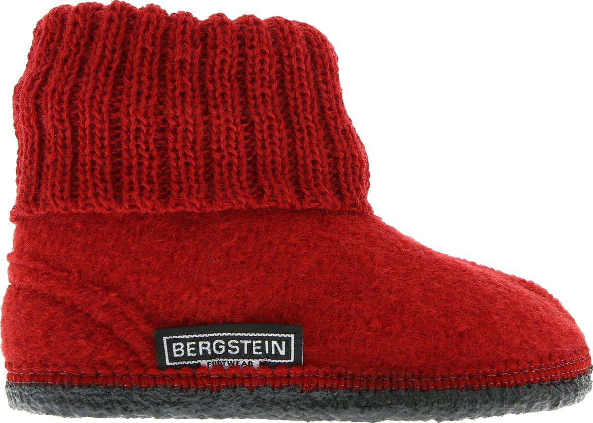 Bergstein Cozy Sloffen Kinderen  Red