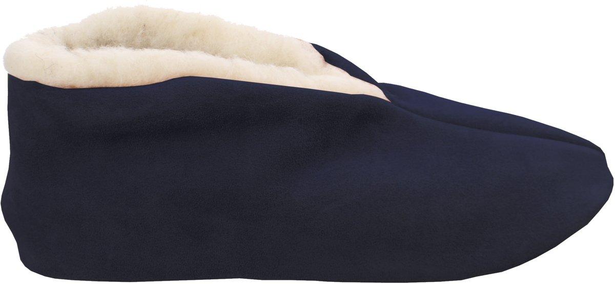 Bernardino? - Spaanse sloffen - donkerblauw - 100% wol - Unisex -  Maat 46