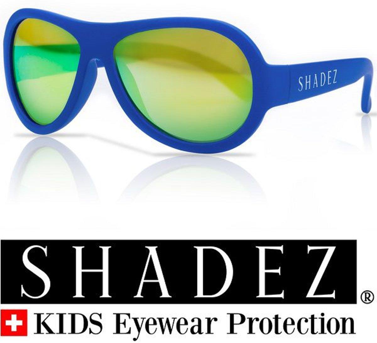 Zonnebril baby & peuter - Kinder zonnebril - Shadez - Blauw 0-3 jr
