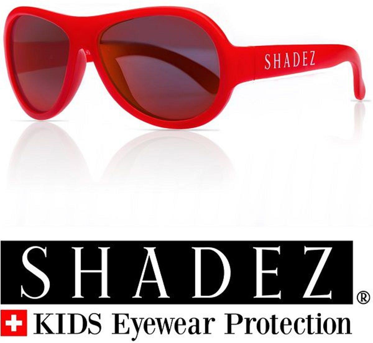 Zonnebril kind & tiener - Kinder zonnebril - Shadez - Rood 7-15 jr