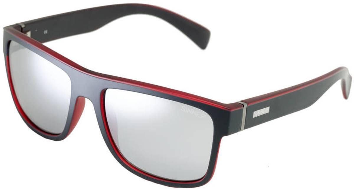 Sinner Skagen Gepolariseerde Zonnebril - Zwart/Rood - One Size
