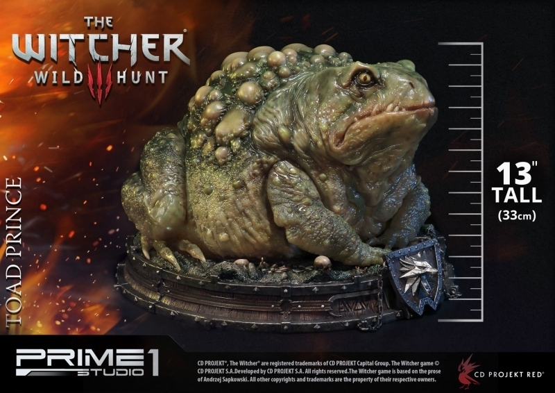 The Witcher 3: Wild Hunt - Toad Prince of Oxenfurt Statue