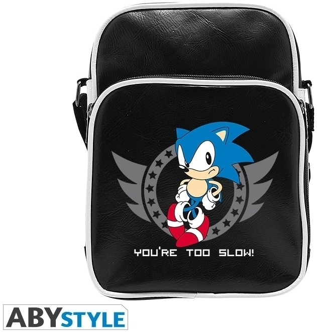 Sonic Small Messenger Bag 'You're too Slow!'