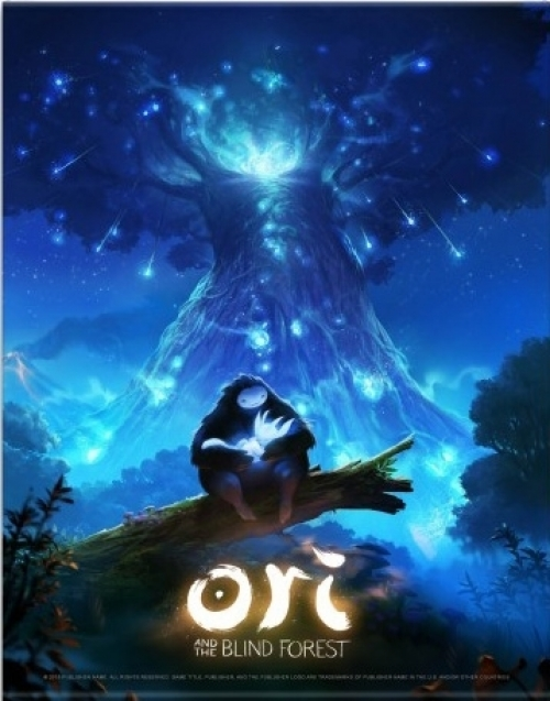 Ori and the Blind Forest Wallscroll Keyart
