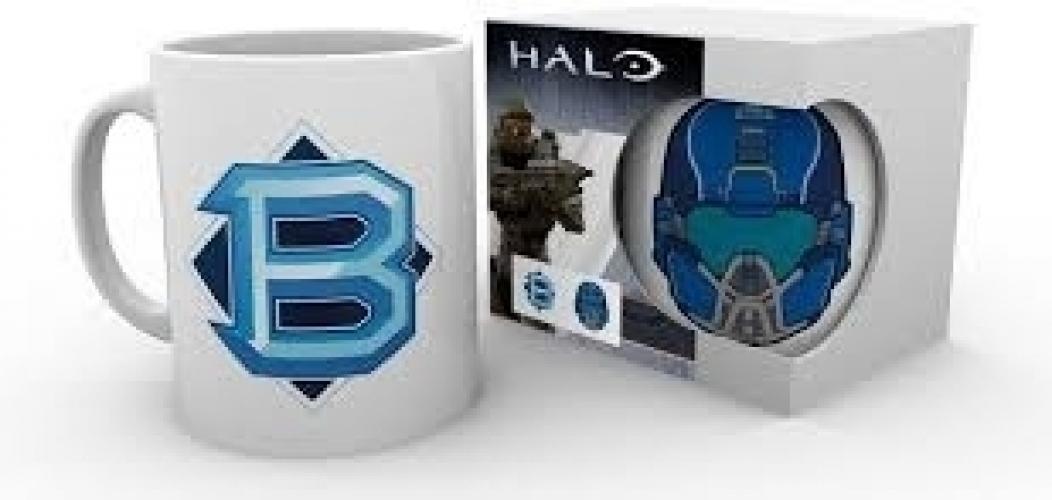 Halo 5 Mok - PVP Blue
