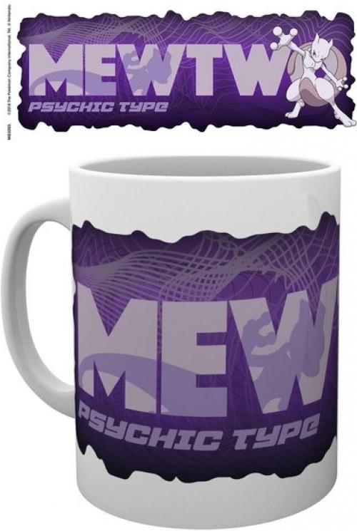 Pokemon - Mewtwo Type Mug