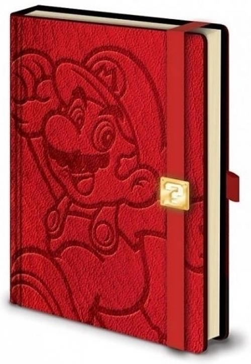 Super Mario Premium A5 Notebook