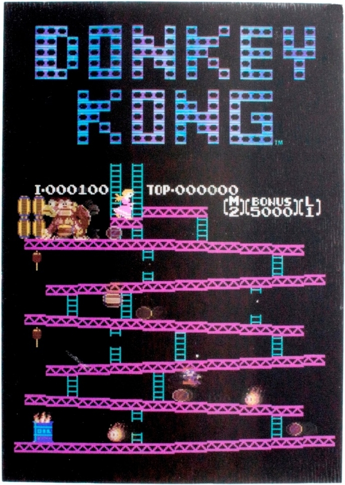 Nintendo Donkey Kong Lenticular Notebook