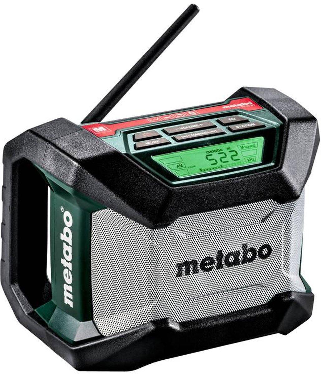 Metabo R 12-18 BT FM Bouwradio Bluetooth Zwart, Groen, Grijs