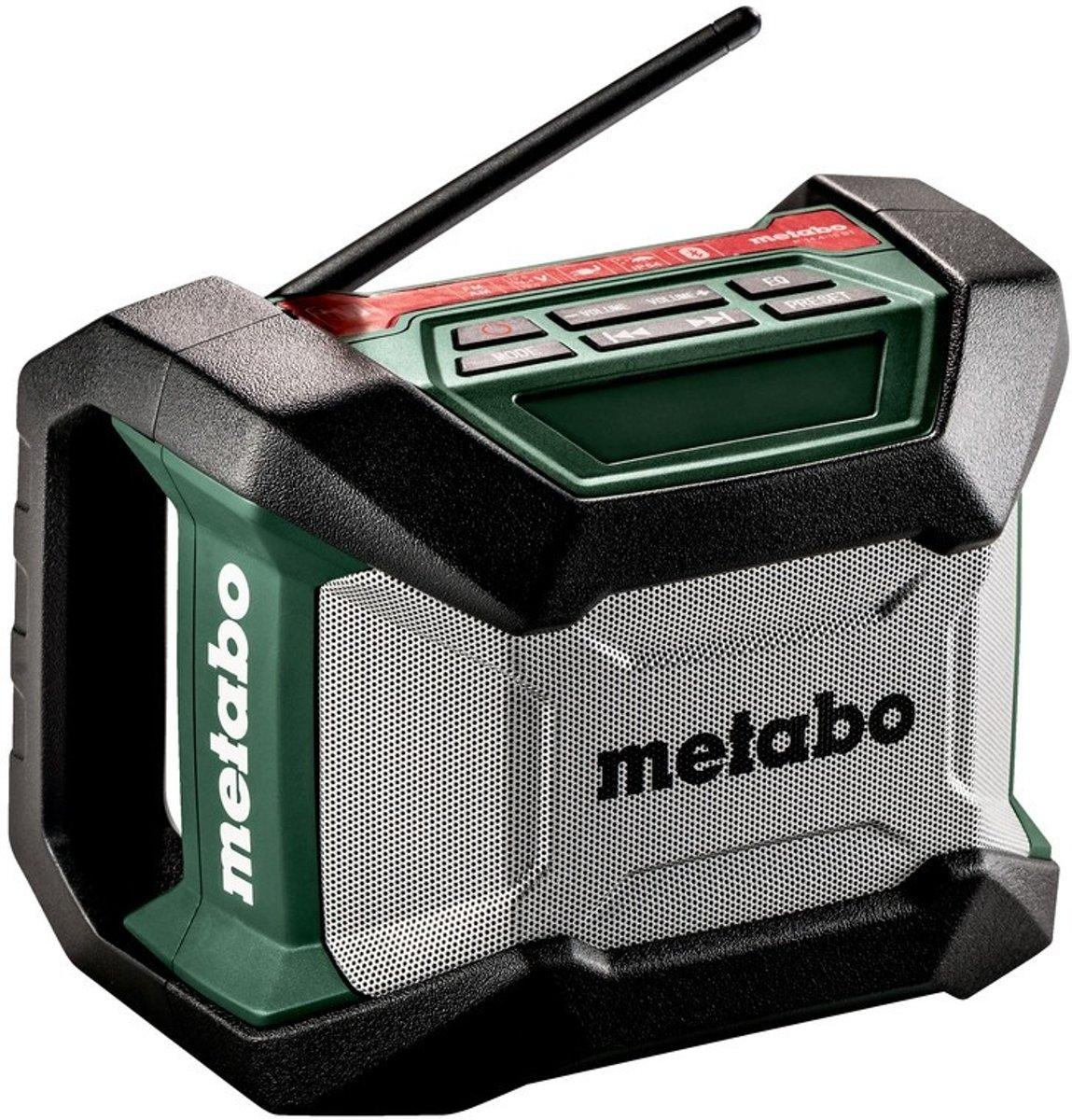Metabo R 12-18 FM Bouwradio Zwart, Groen, Grijs