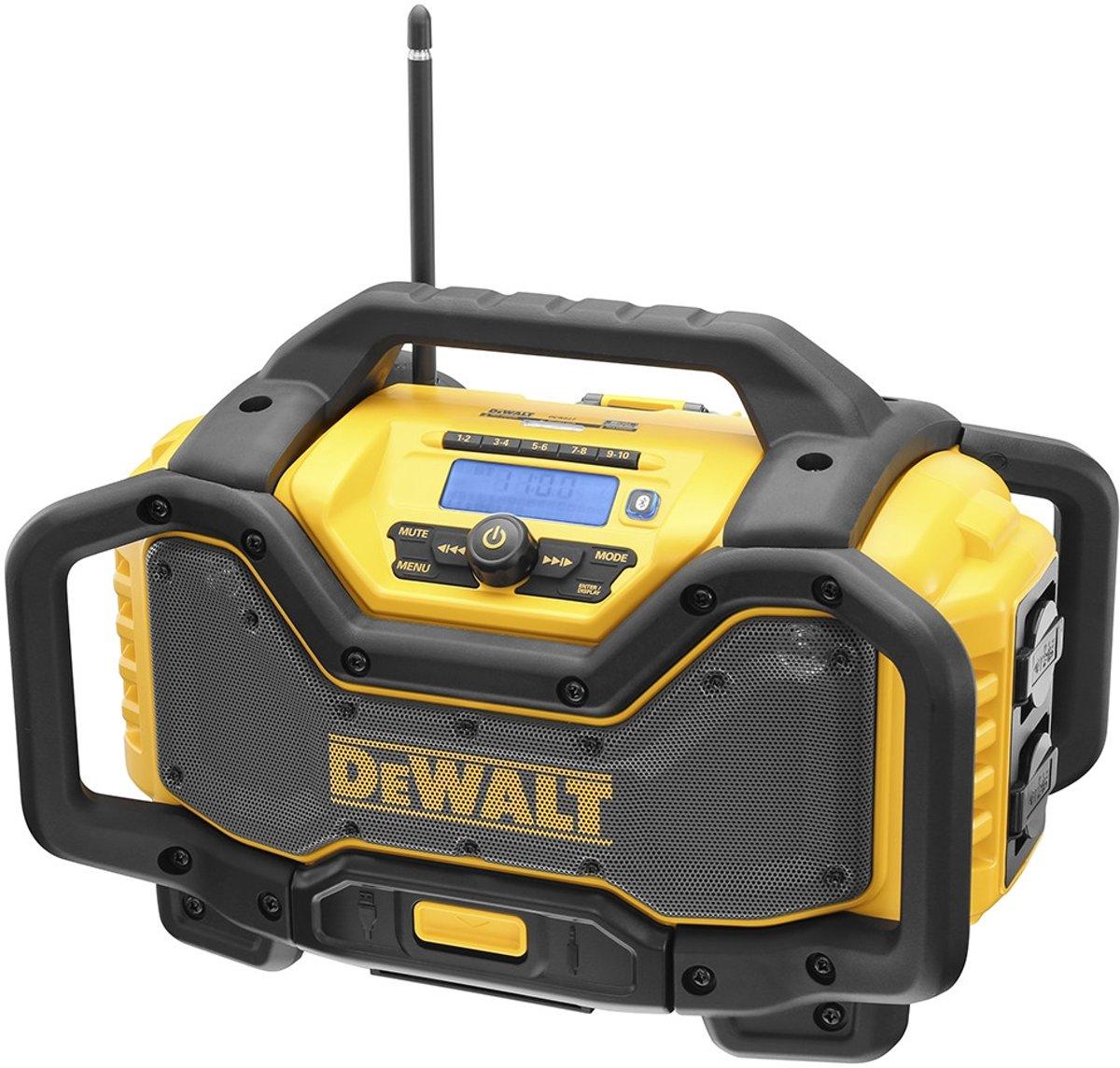 Dewalt DCR027 XR DAB+ Radio lader - Bouwradio