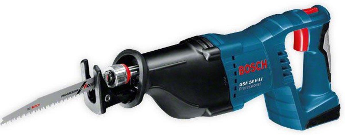 Bosch GSA 18 V-Li accu reciprozaag | zonder accu's en lader