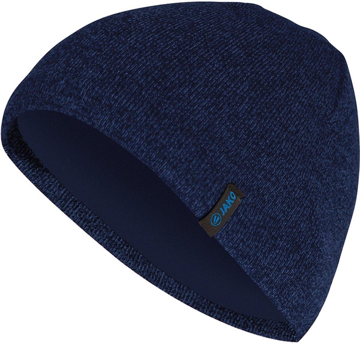Jako Gebreide Muts - Mutsen  - blauw donker - Senior