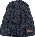 Barts Twister Turnup Beanie - Muts - One Size - Navy