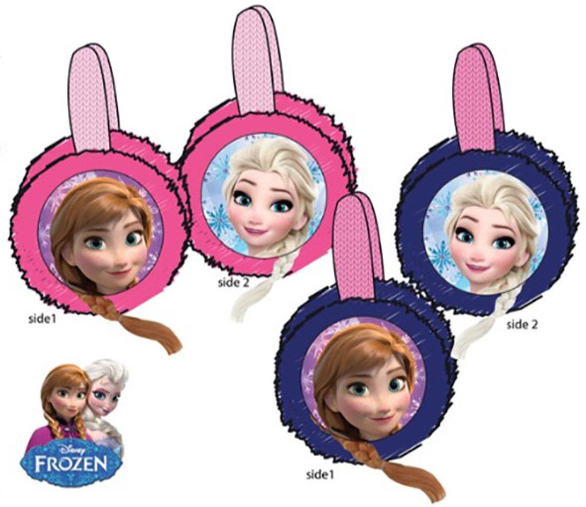 Disney Frozen blauwe oorwarmers - one size