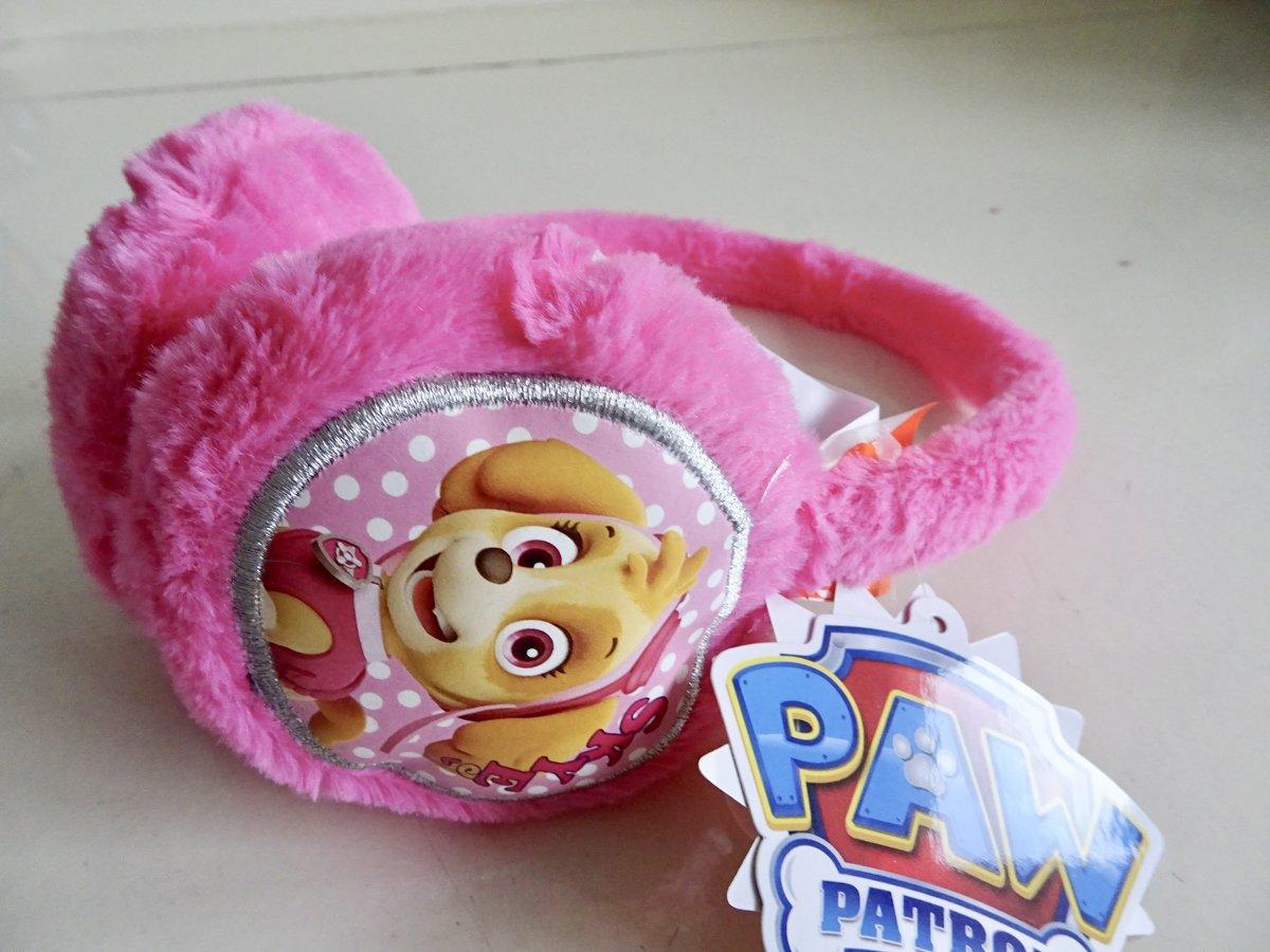 Roze oorwarmers van Paw Patrol one size