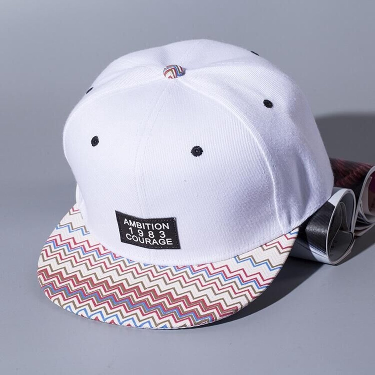 Witte Snapback Pet - Cap