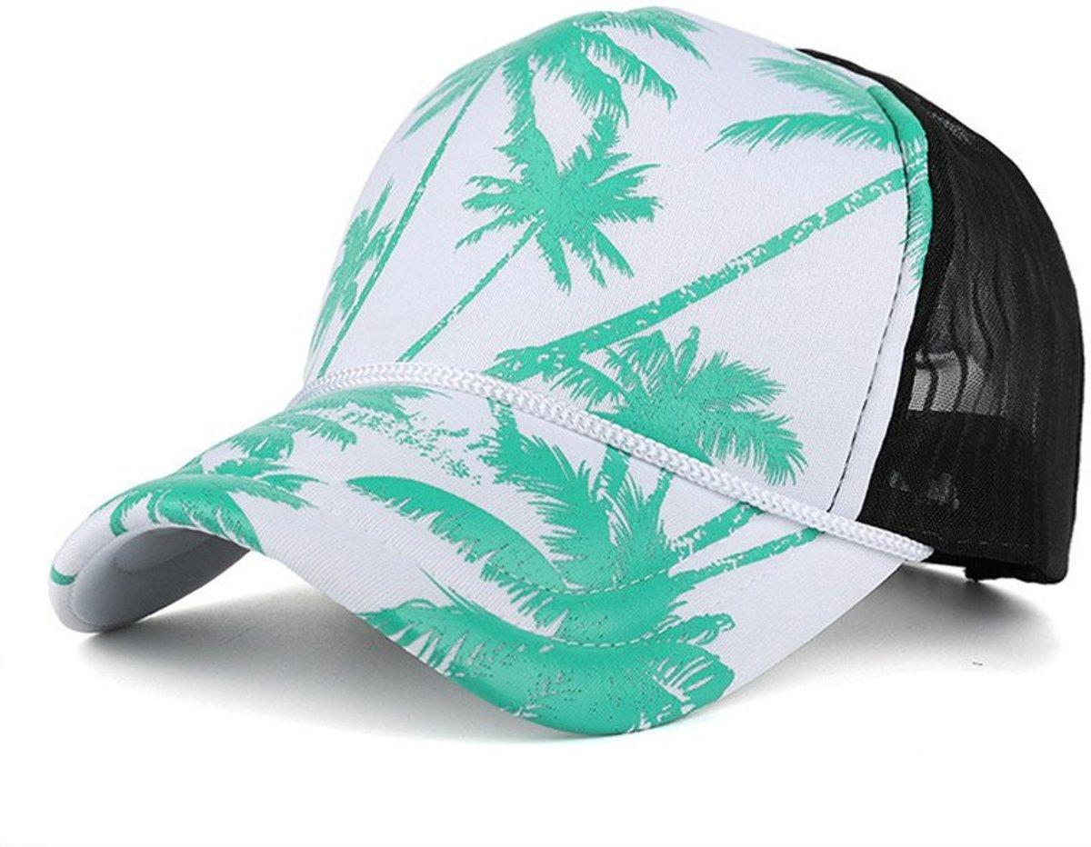 Palmboom Snapback - Pet - Cap - Groen