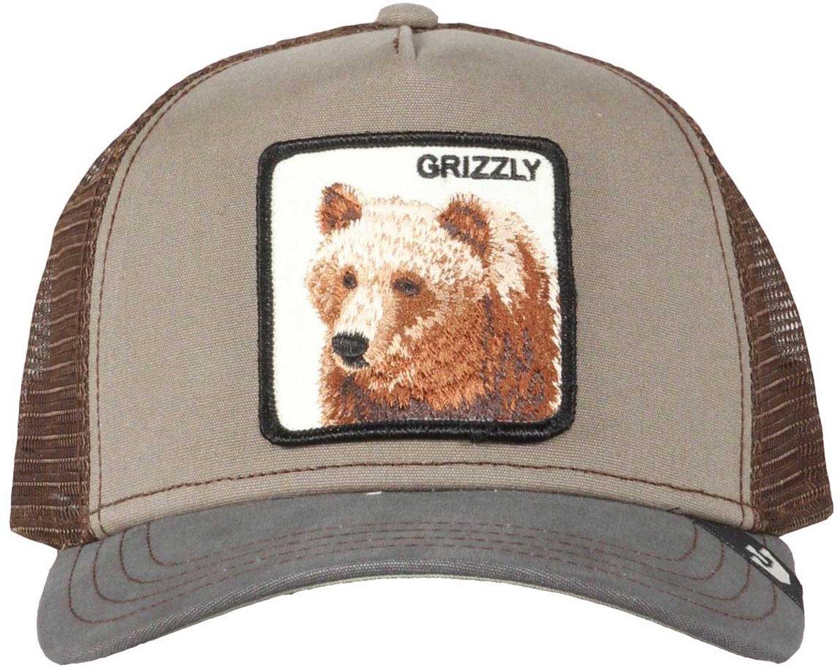 Goorin Bros Grizz Trucker Cap - Groen Bruin