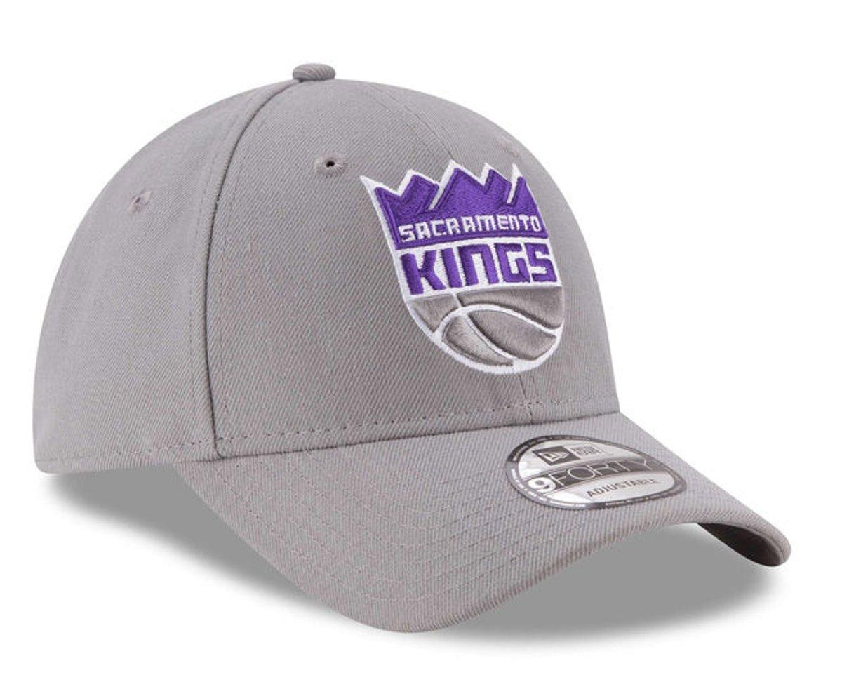 New Era Cap 9FORTY Sacremento Kings - One size - Unisex - Grijs