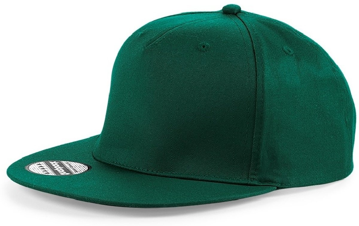 Senvi Snapback Rapper Cap Groen - One size fits all