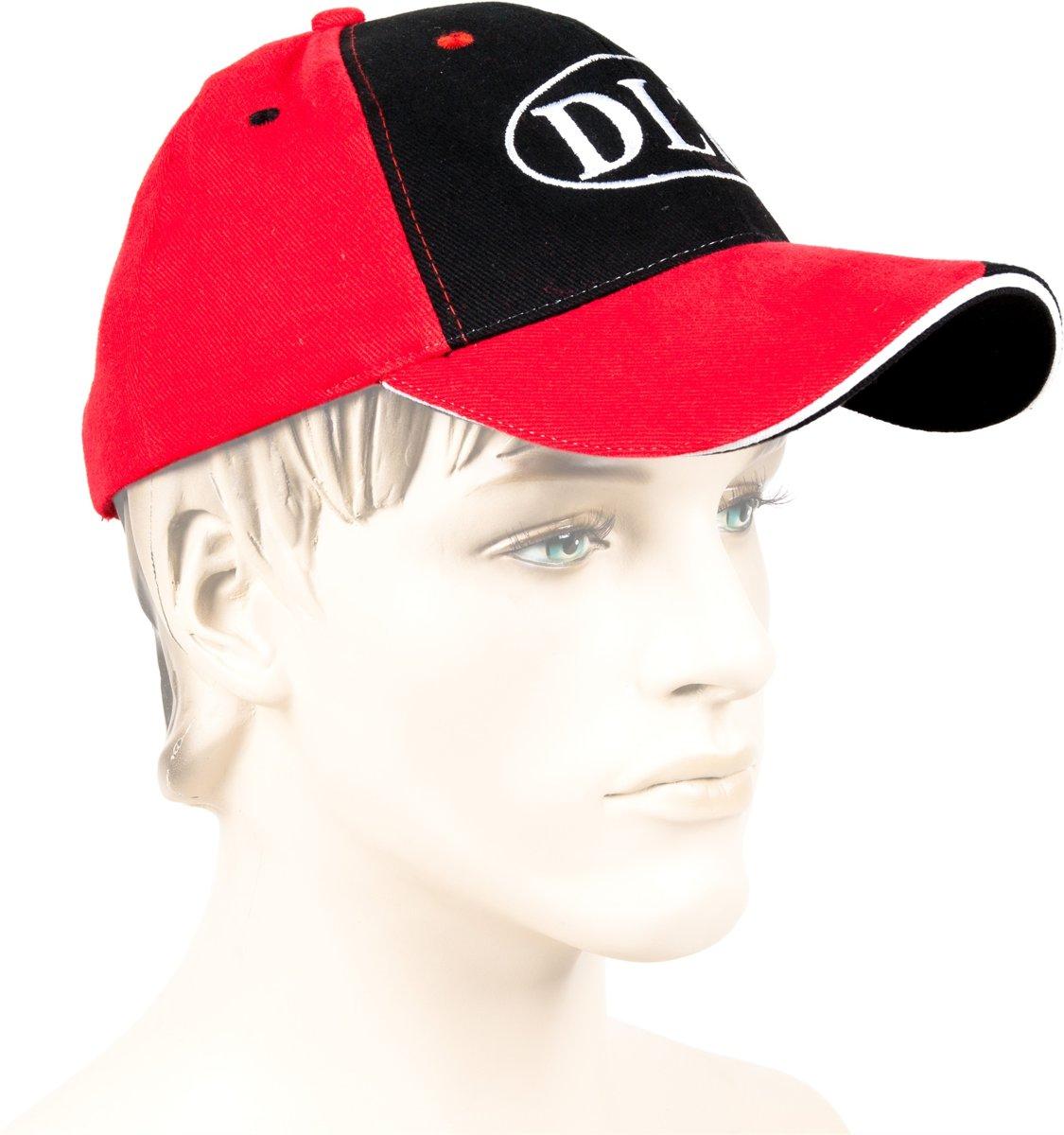 DLT - Cap - Unisex - Maat One size - Rood/Zwart