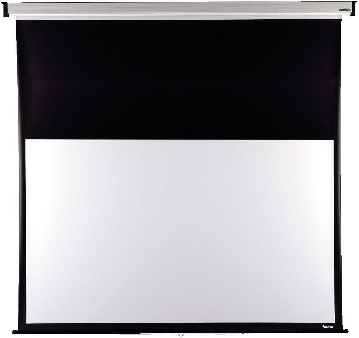 SpeaKa Professional SP-BML-1000 SP-6246788 Elektrisch projectiescherm 265 x 149 cm Beeldverhoudin 16:9