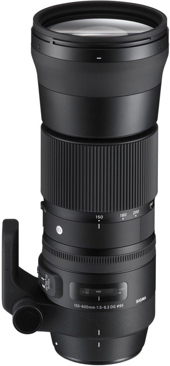 Sigma 150-600mm F5-6.3 DG OS HSM | C SLR Super telelens Zwart