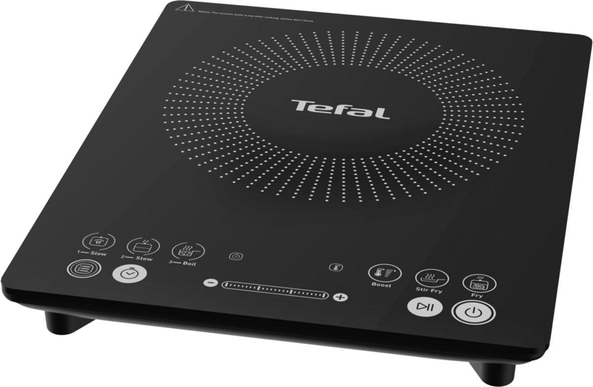 Tefal IH2108 Everyday Slim Draagbare Inductiekookplaat 2100W Zwart