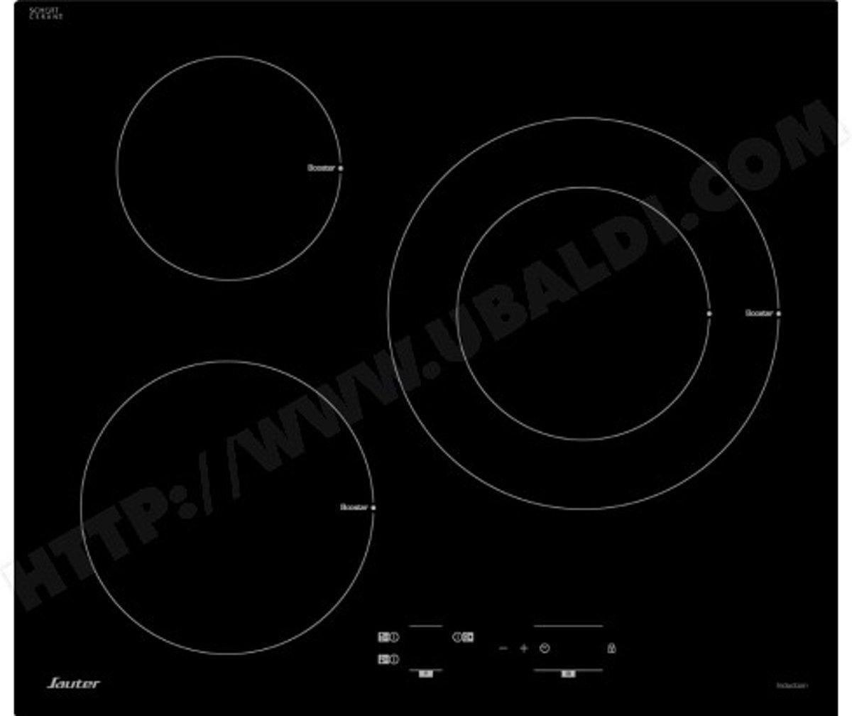 Sauter SPI4367B kookplaat Zwart Ingebouwd Zone van inductiekookplaat