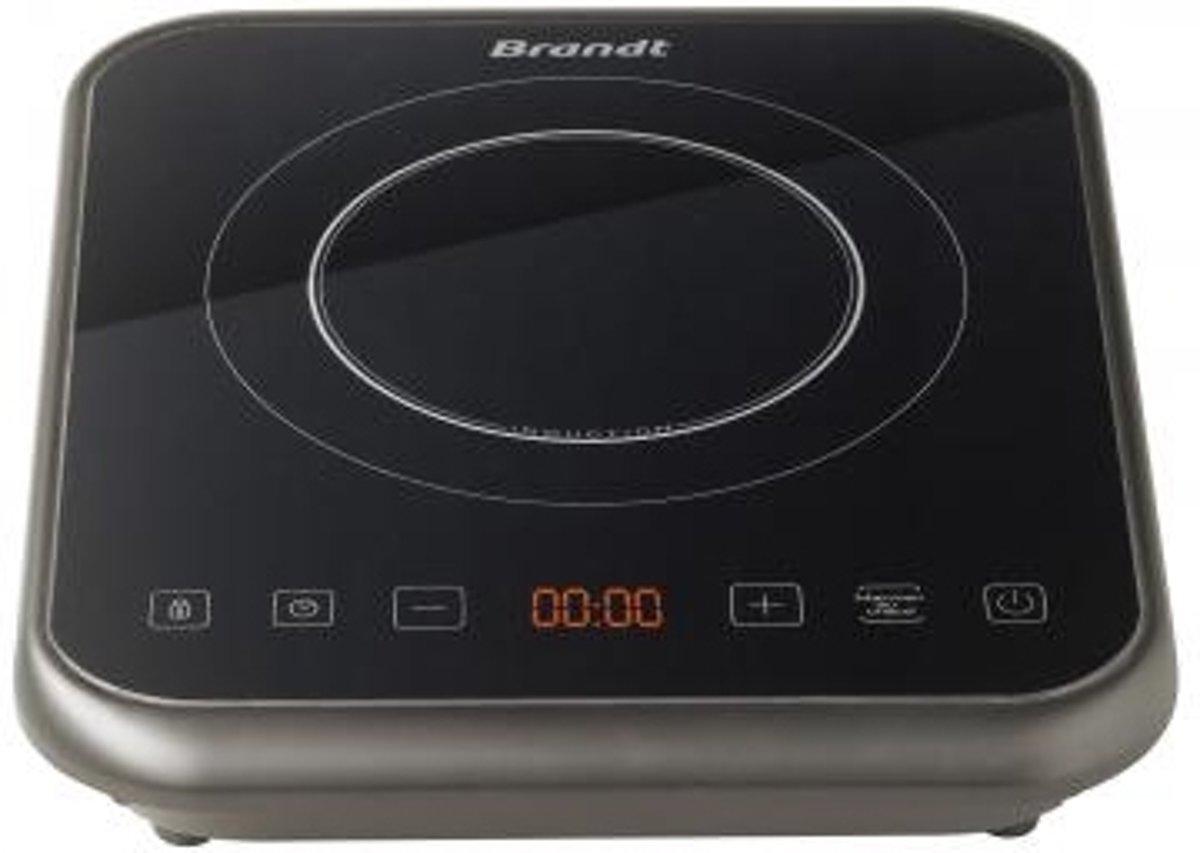 Brandt TI1FSOFT Tafelblad Zone van inductiekookplaat Zwart kookplaat