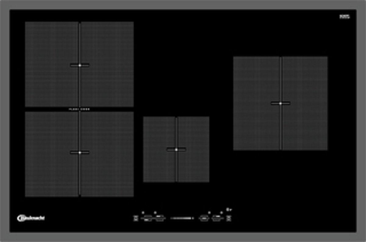 Bauknecht ESIF 6740 IN Ingebouwd Zone van inductiekookplaat Zwart