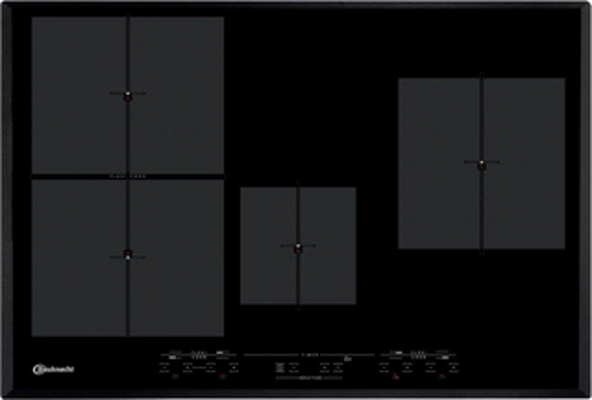 Bauknecht ESIT 7740 IN Ingebouwd Zone van inductiekookplaat Zwart kookplaat